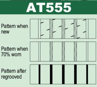 pattern at555